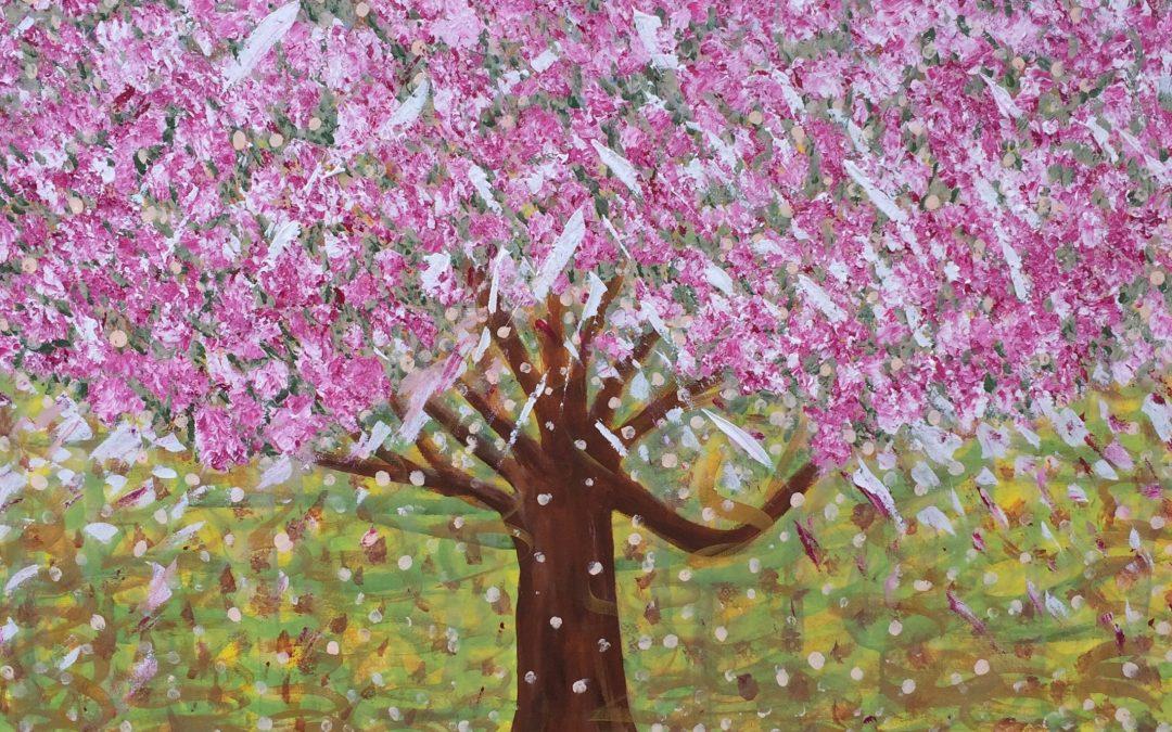 Cherry blossom hug